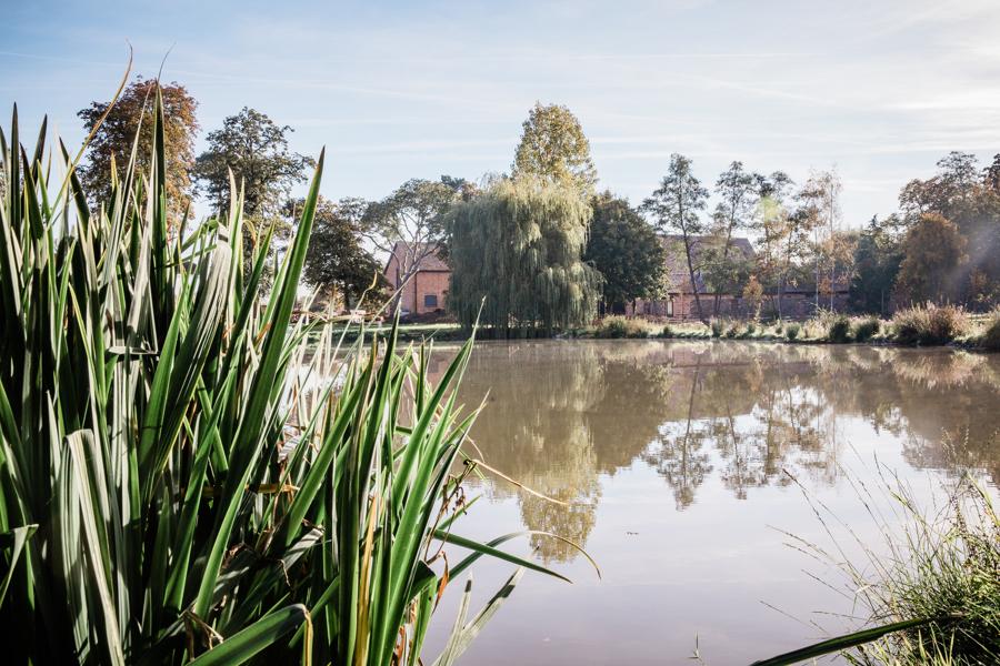 Lake at Hanley Hall Wedding Event venue.jpg