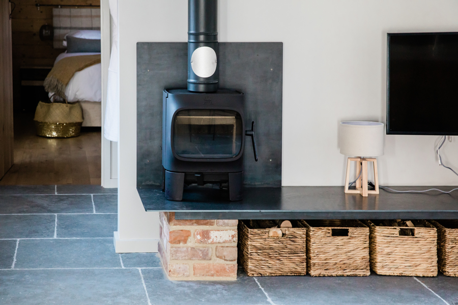 Wood burning stove in wedding accommodation.jpg