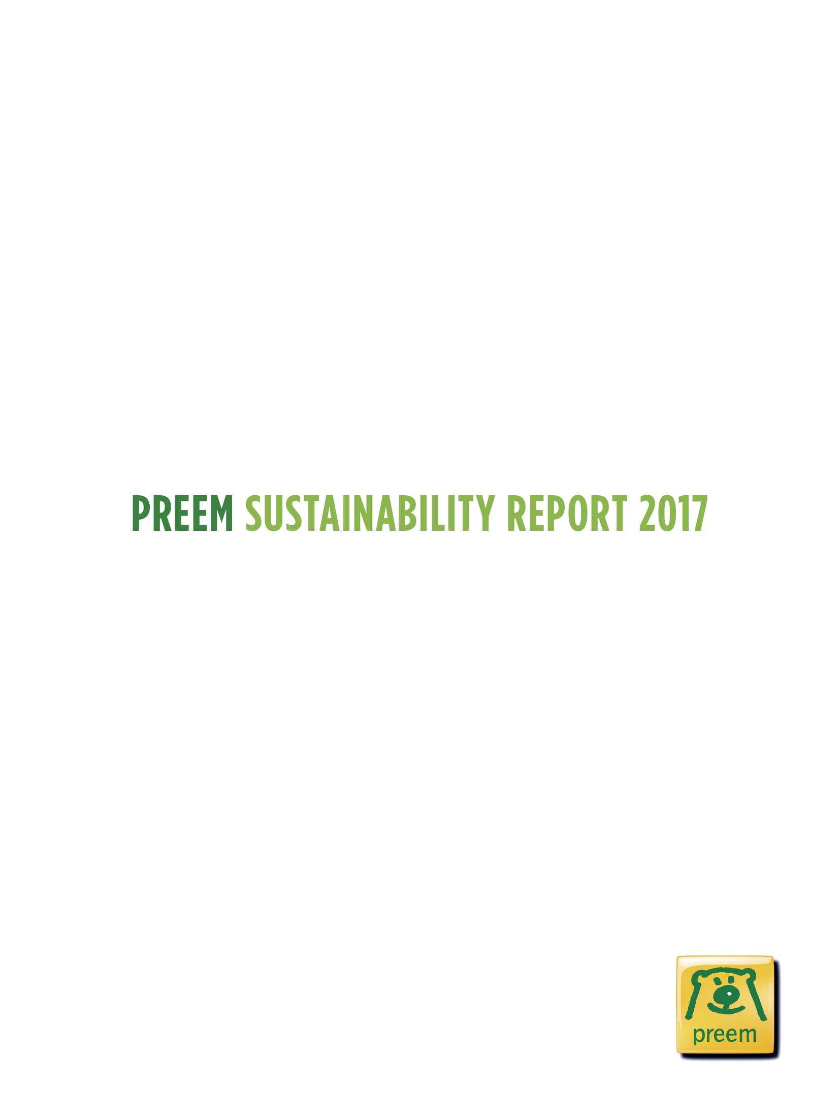 2017 Hållbarhetsredovisning