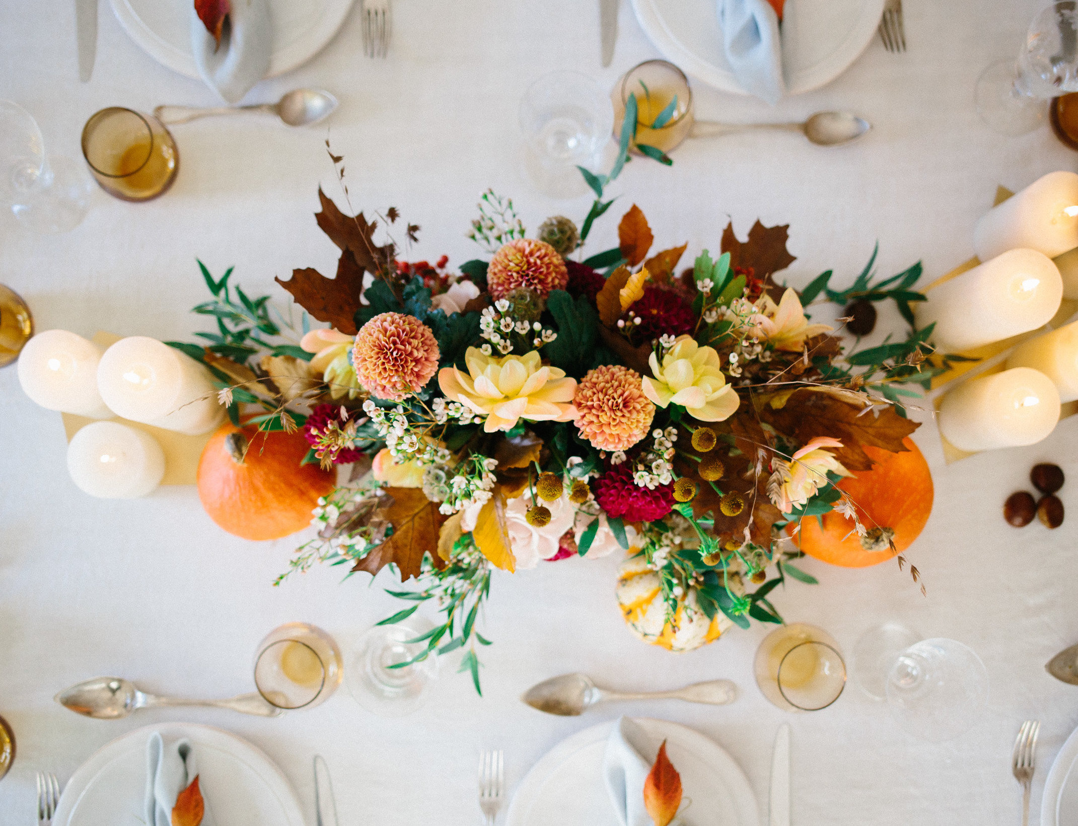 Secret Garden Supper Club Tablescape