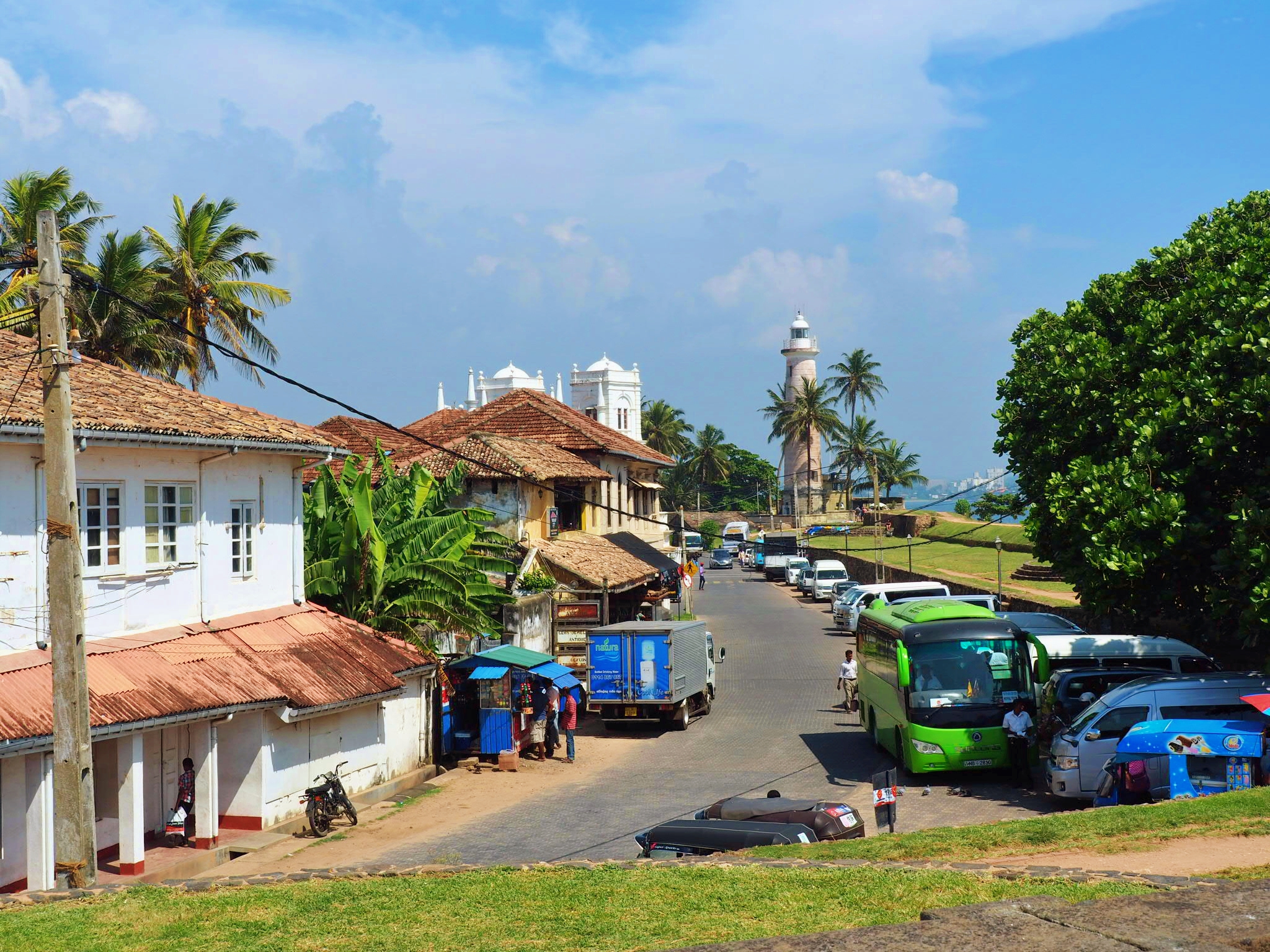 …but the sedate town of Galle might be the perfect place to put those running shoes on.