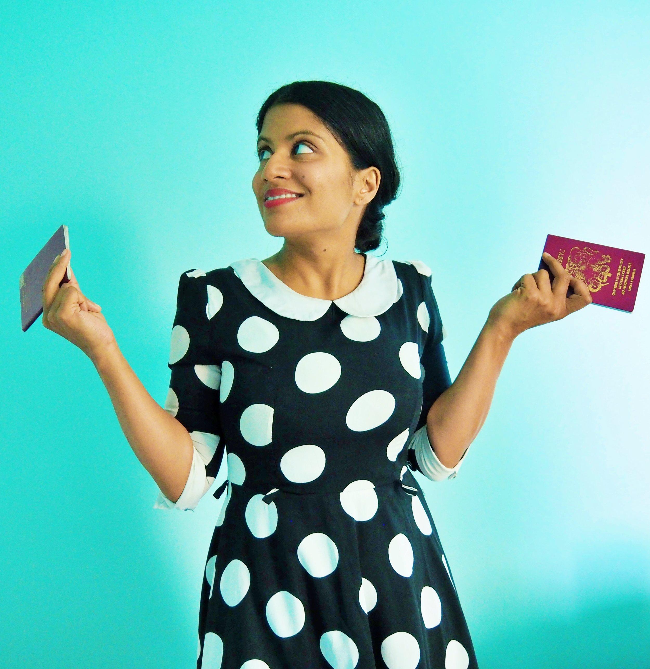 Me rocking my passport privilege
