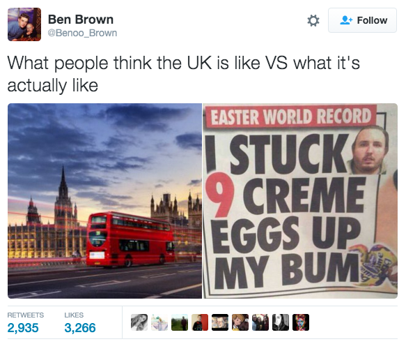 This guy has nailed it when it comes to what the UK is really like.