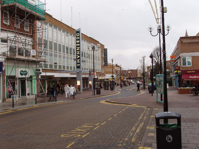But really, I am from here. (Image by  David Hawgood , Department store, Harrow /  CC BY-SA 2.0 )