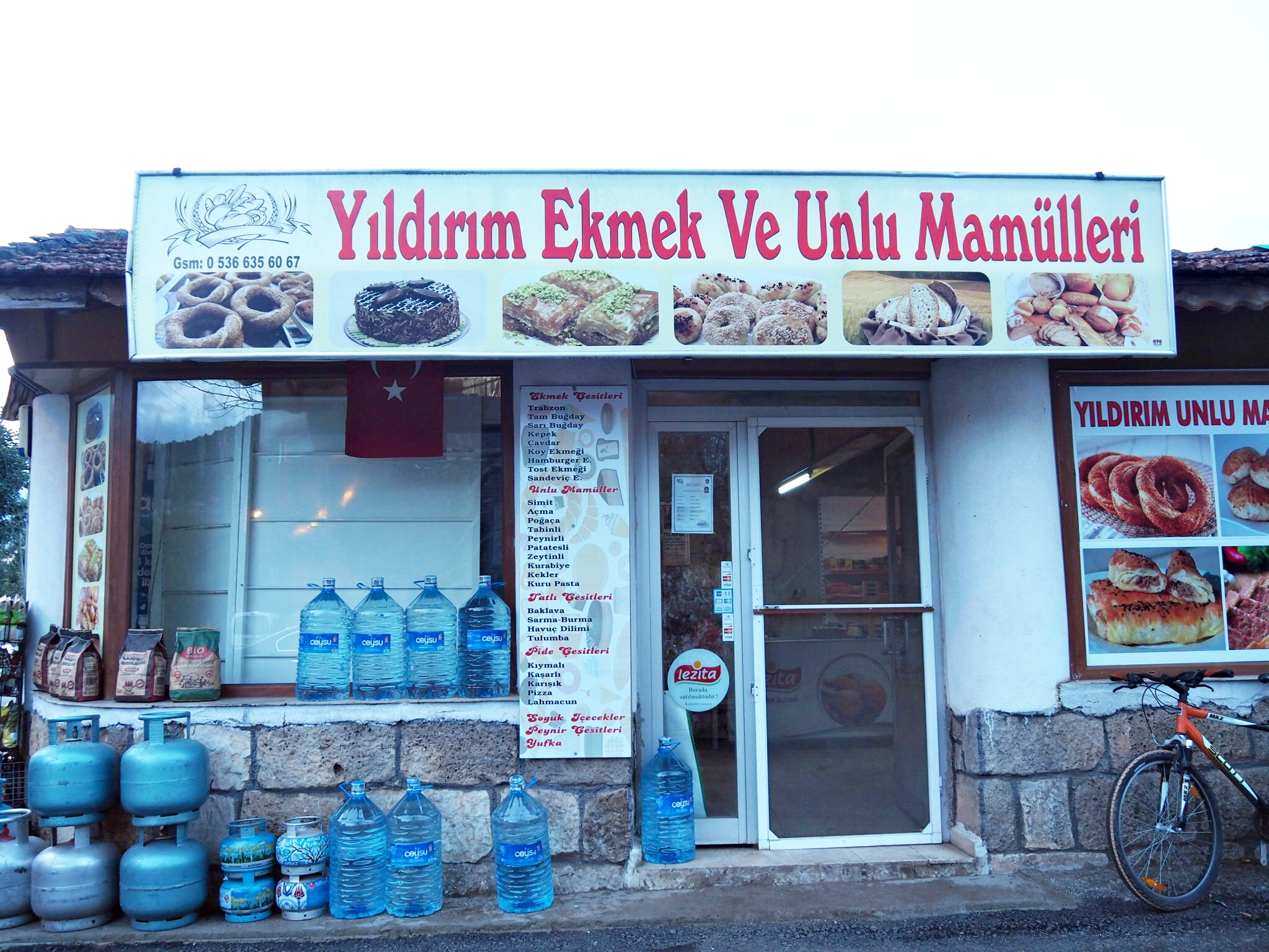 Maybe it was pure laziness just to call this place the 'ekmek' but the actual name was so much longer…