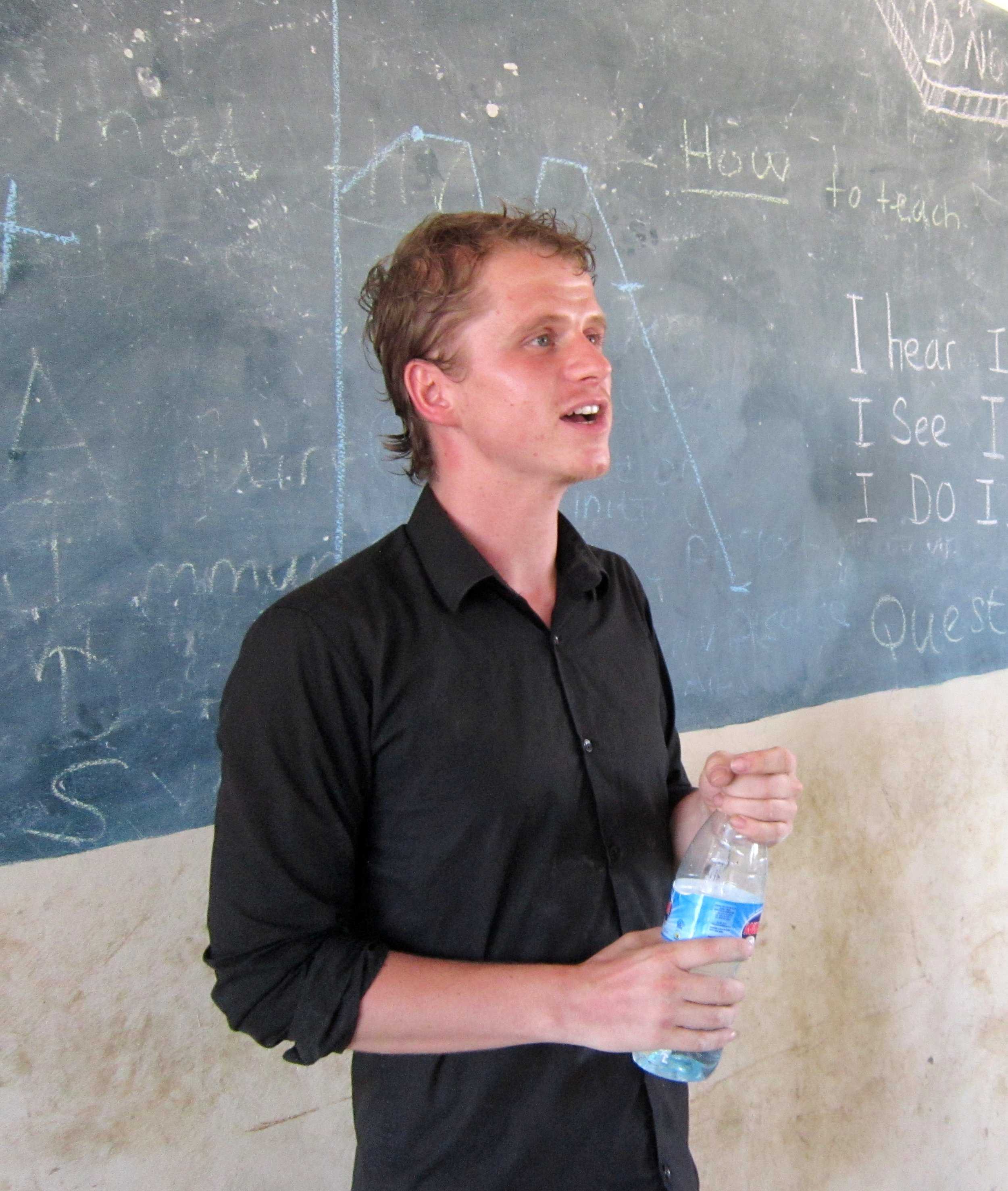 The sweaty long-haired reality of delivering teacher training in Zambia.