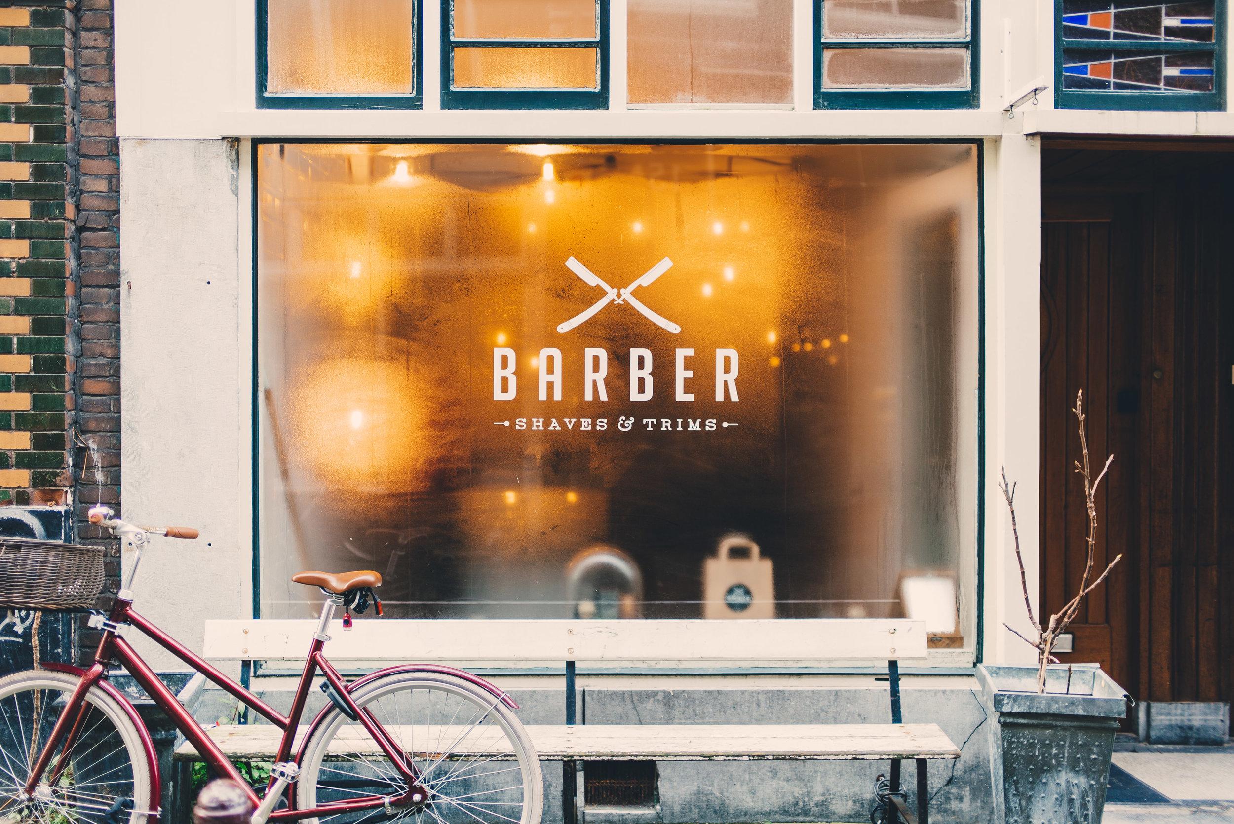 barbershop outside