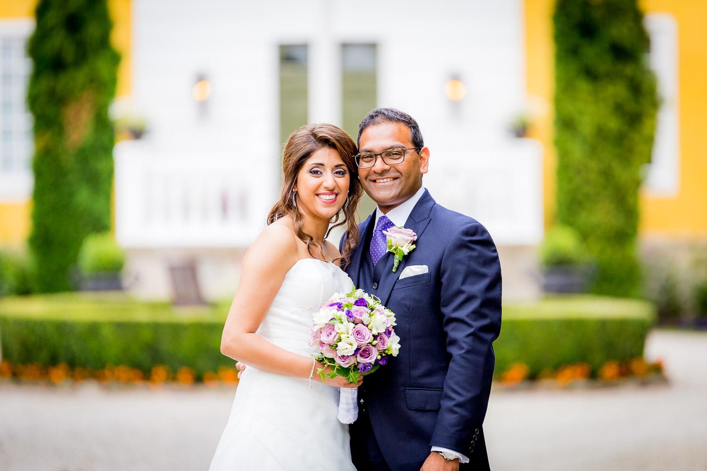 Bröllopsporträtt Fulltofta slott Hörby