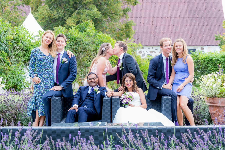Bröllopsfotografering Fulltofta slott Hörby