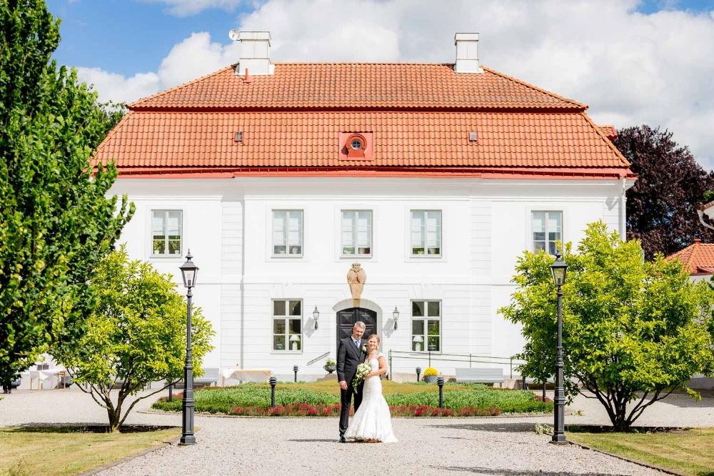 Josefine & Mattias, Bjärsjölagårds Slott Juni 2016