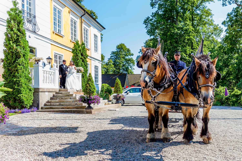 Bröllopsfotograf Fulltofta slott Hörby