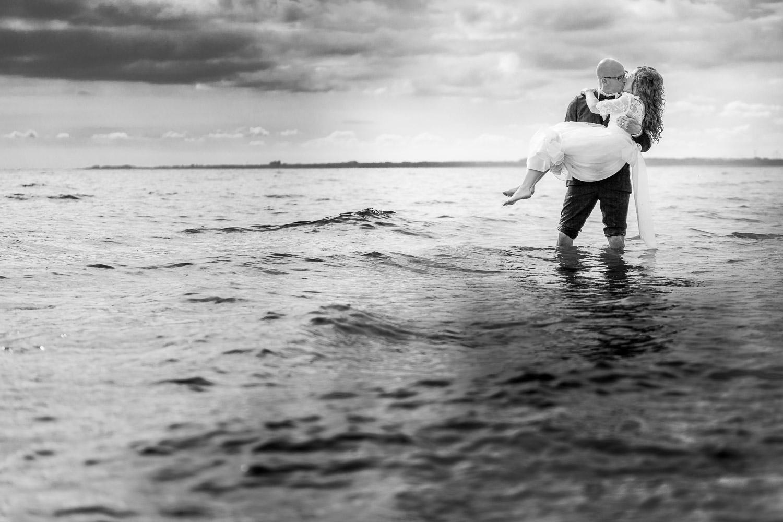 Bröllopsfotgraf Österlen Kåseberga