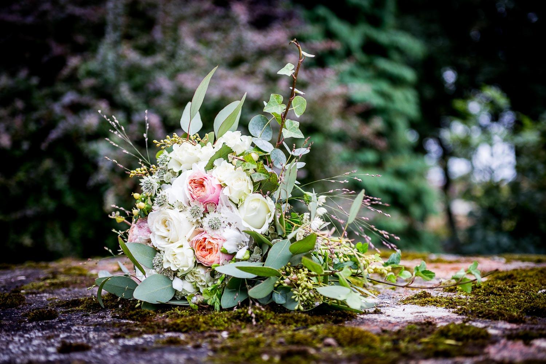 Bröllopsbukett Österlen