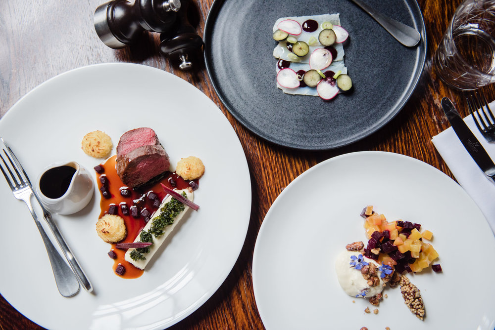 NEW 6 COURSE TASTING MENU - Available NOW    *Friday, Saturday and Sunday evenings from 5:30pm
