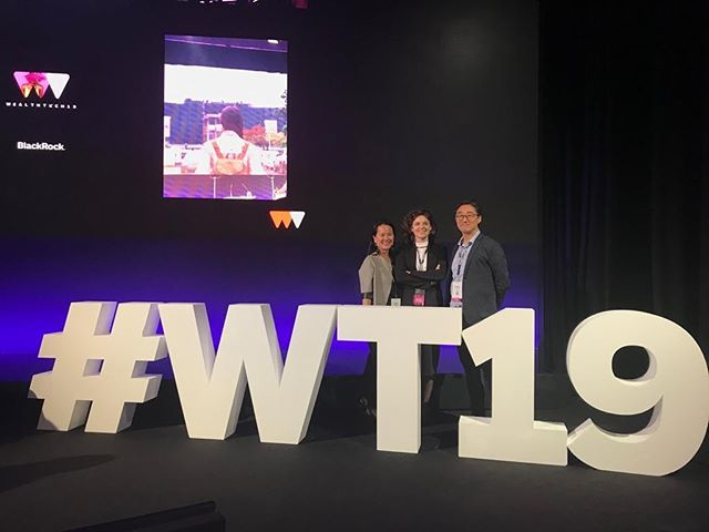 The Limitless team attended the @blackrock Wealthtech conference in London this week. #wt19 #wealthtech #fintech #conference