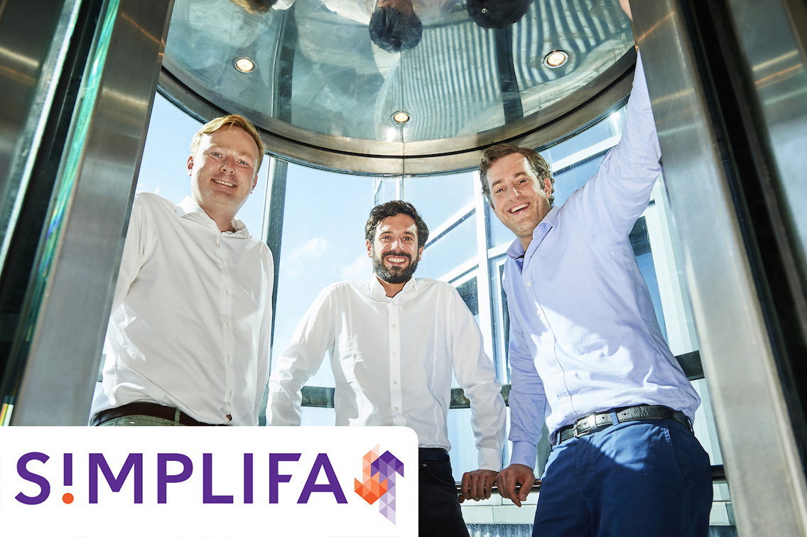 Simplifa - The digital property manager for elevators - Hubertus von Schierstaedt, Managing Director & founderJannis Wunderle, Head of DigitalizationLudwig von Busse, Managing Director & founder
