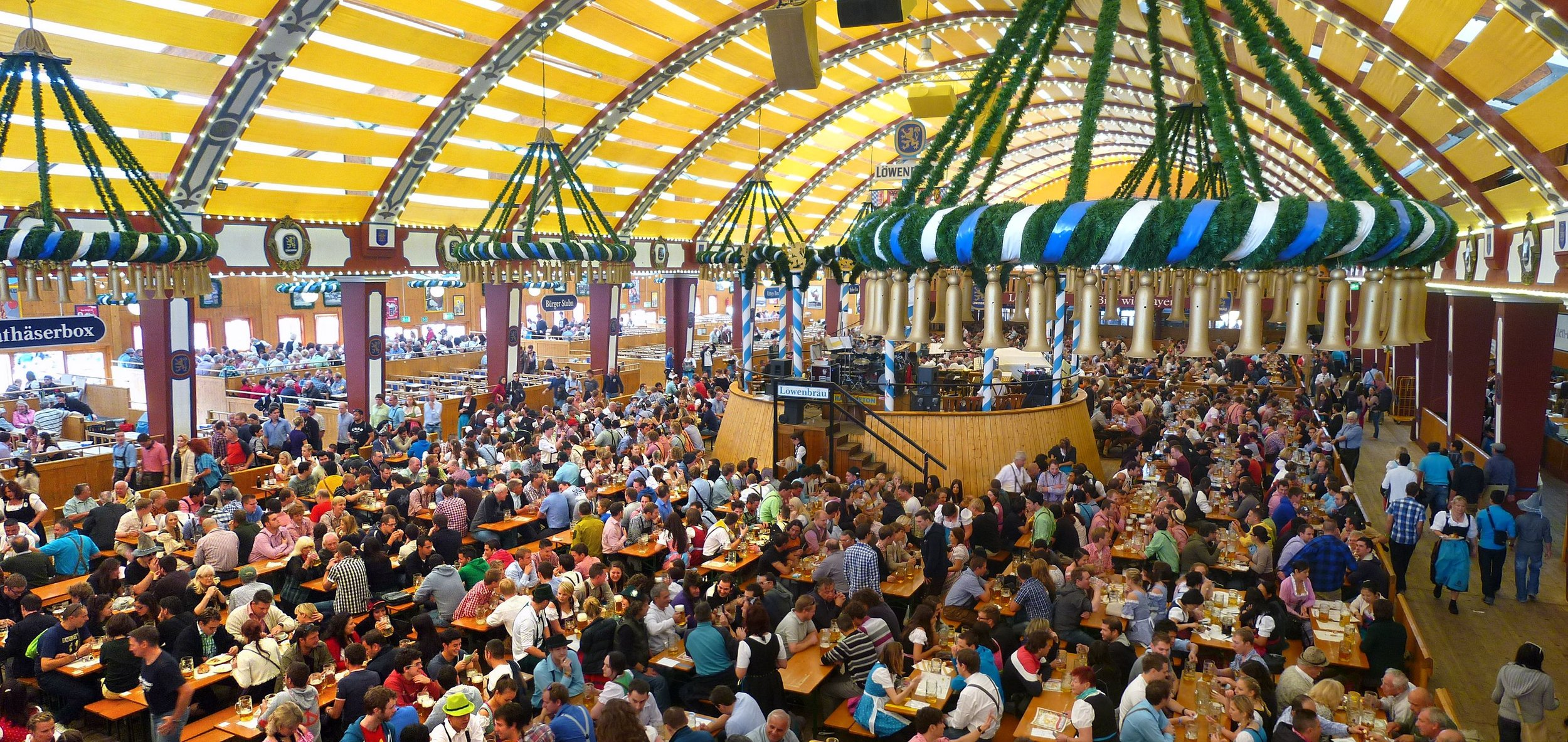 Oktoberfest - The world's largest Volksfest celebrated every year