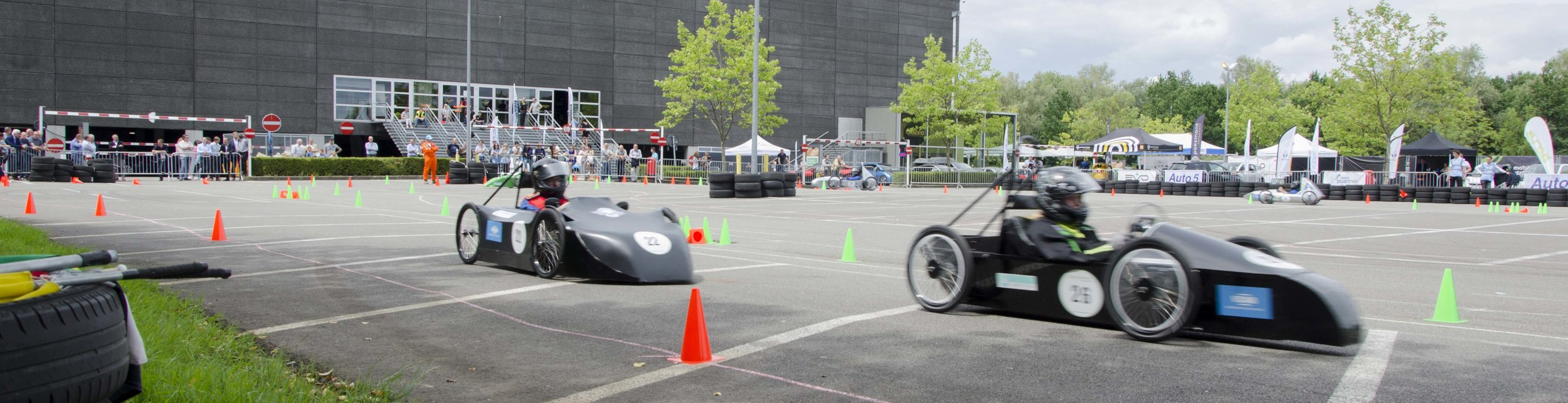 The first Belgian Greenpower race during Evodays 2017