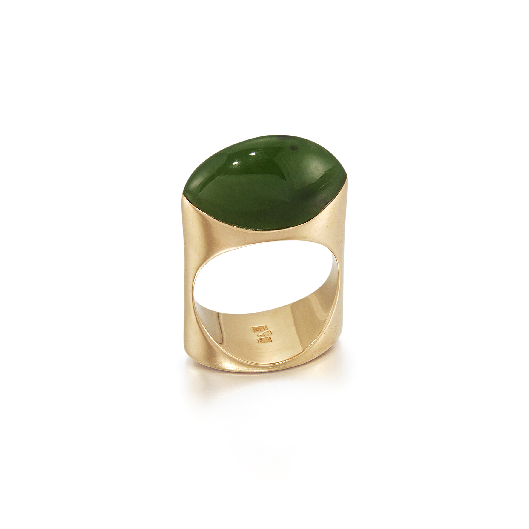 Green Ring - Gold