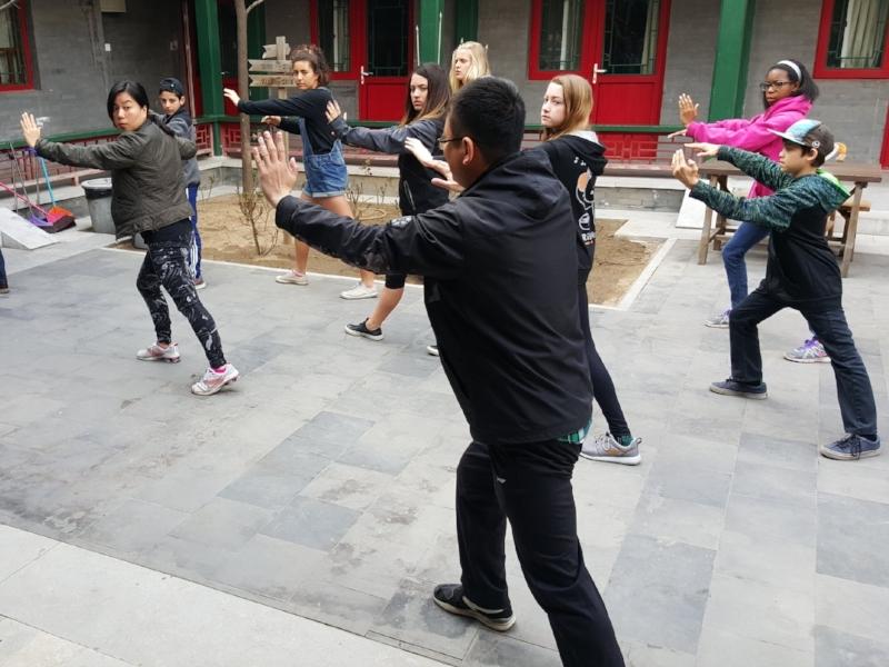 Tai Chi Lesson in China