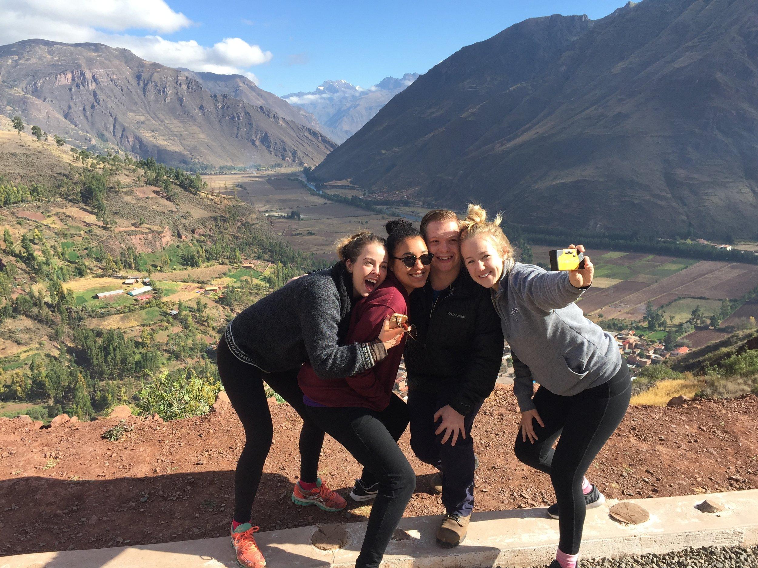 Selfie in the Sacred Valley