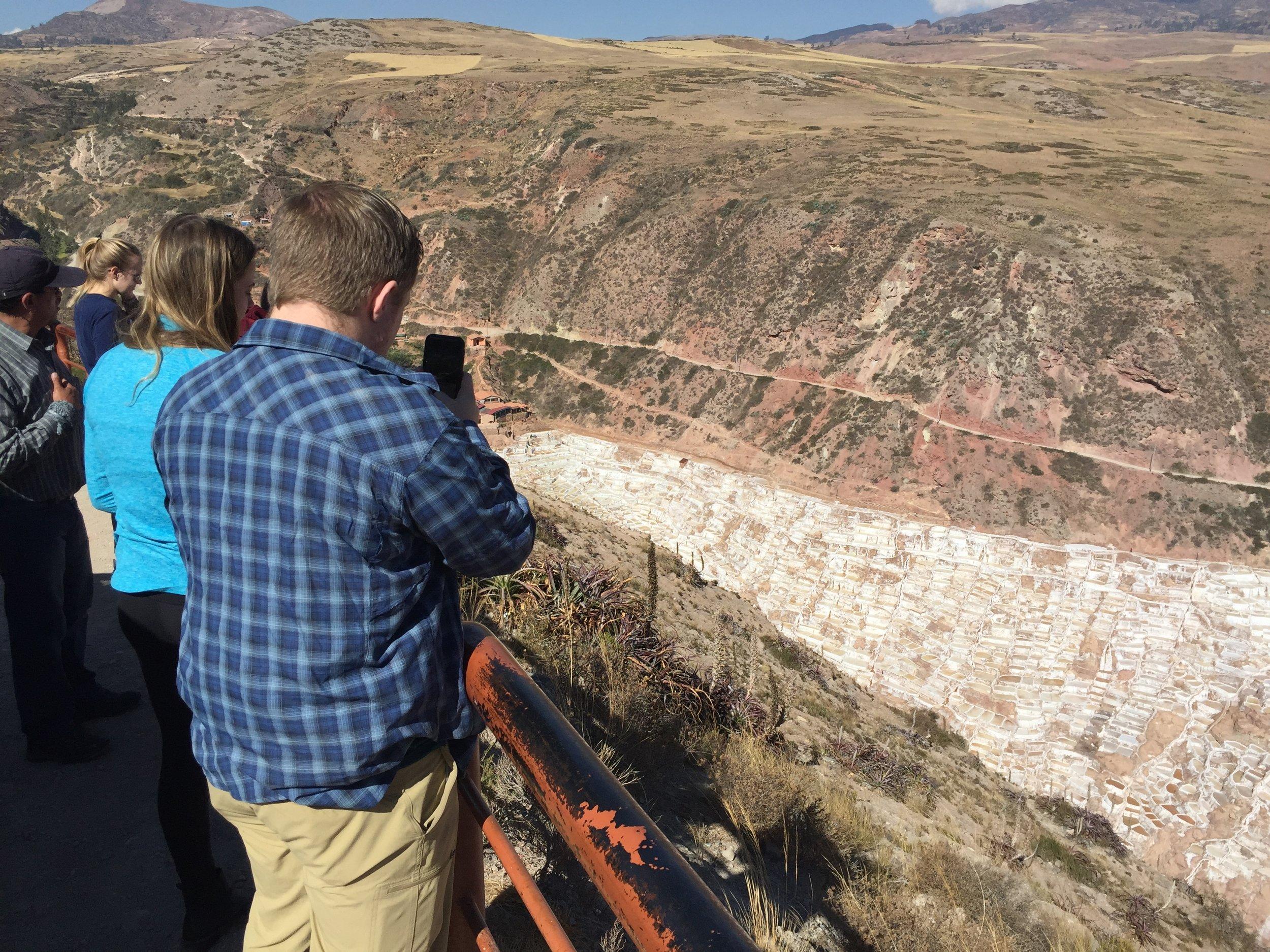 The Incan salt flats of Maras