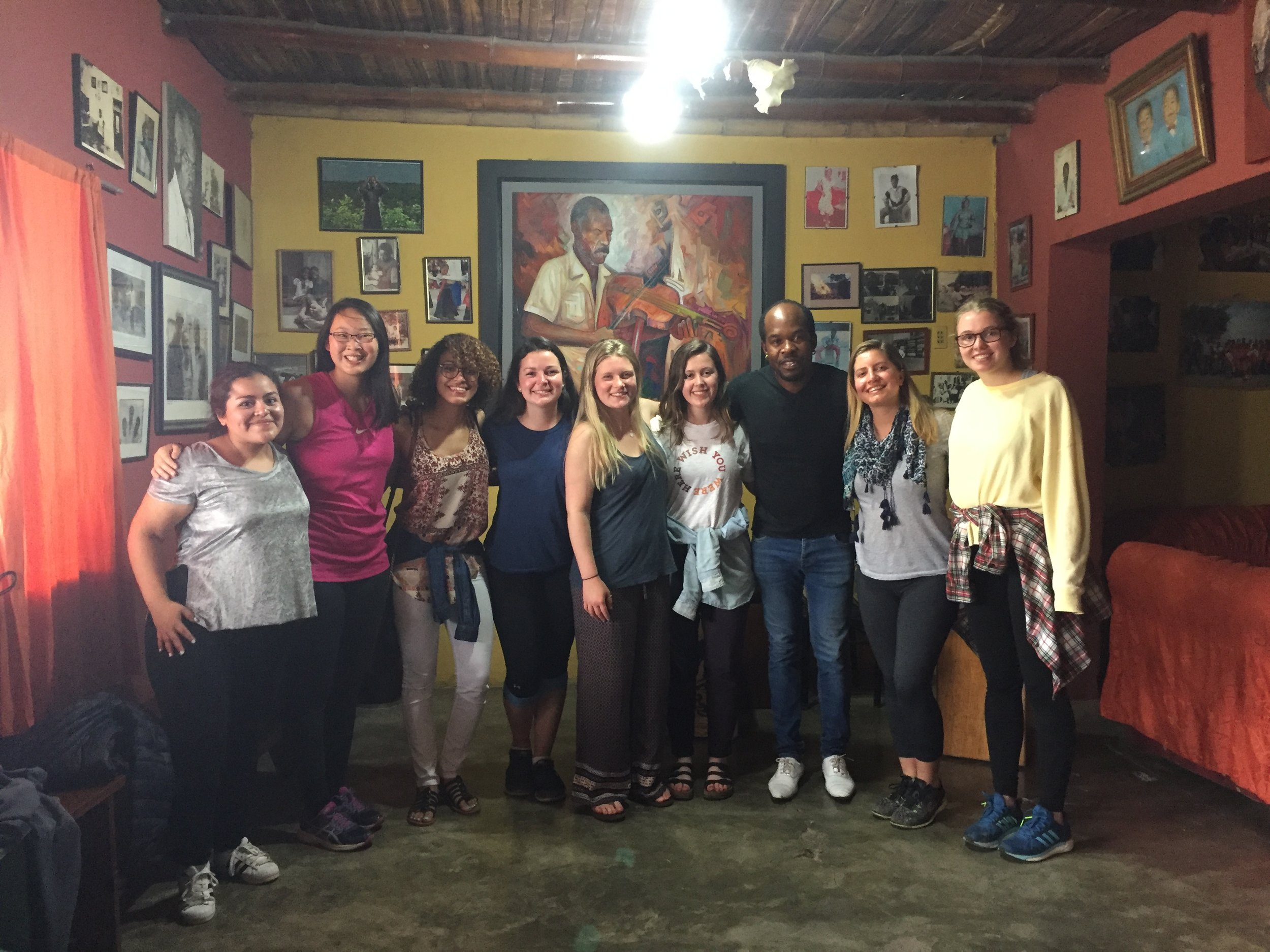 Copy of After an Afro-peruvian dance lesson in Chincha