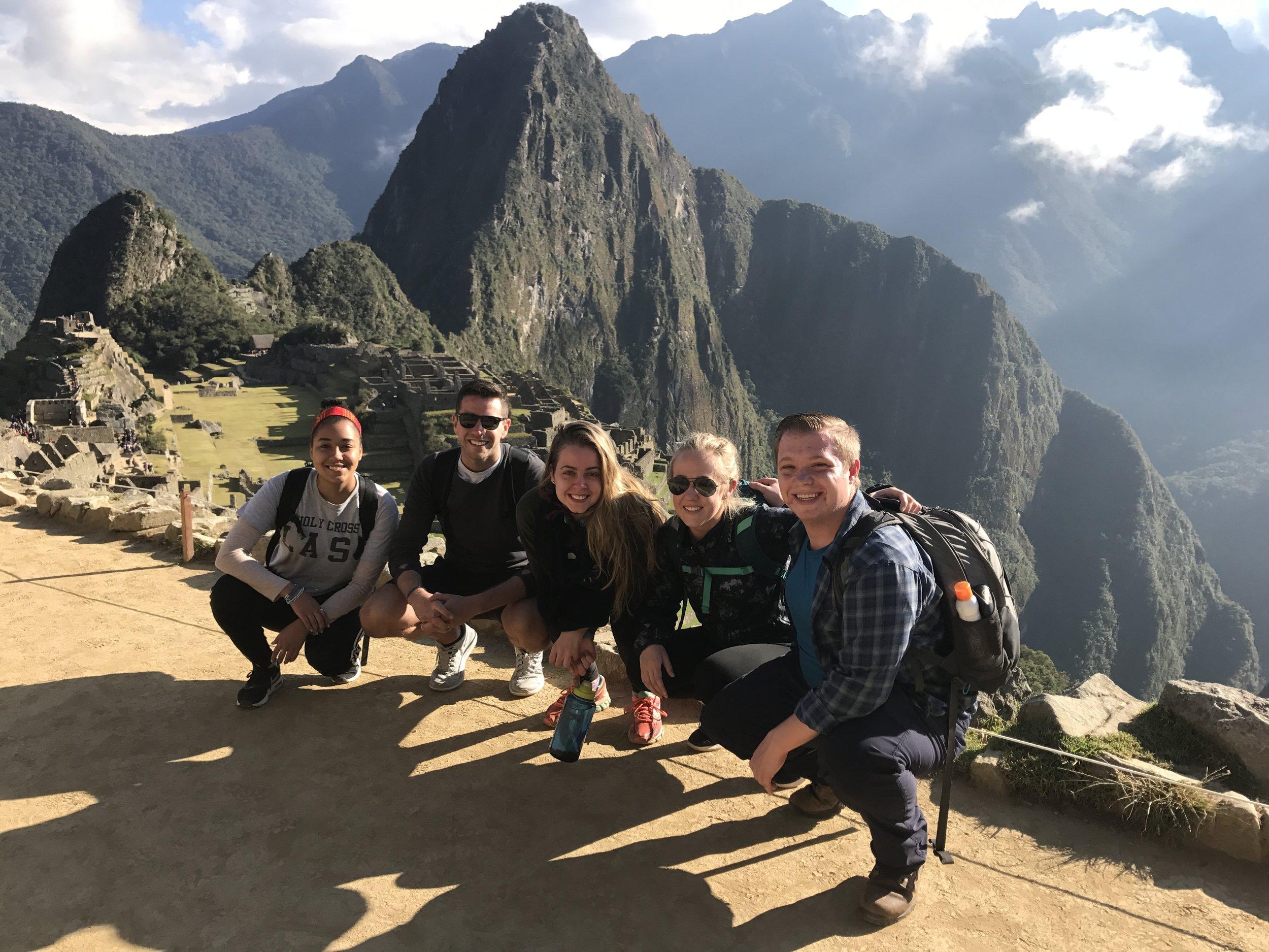 Machu Picchu hike in Peru.JPG