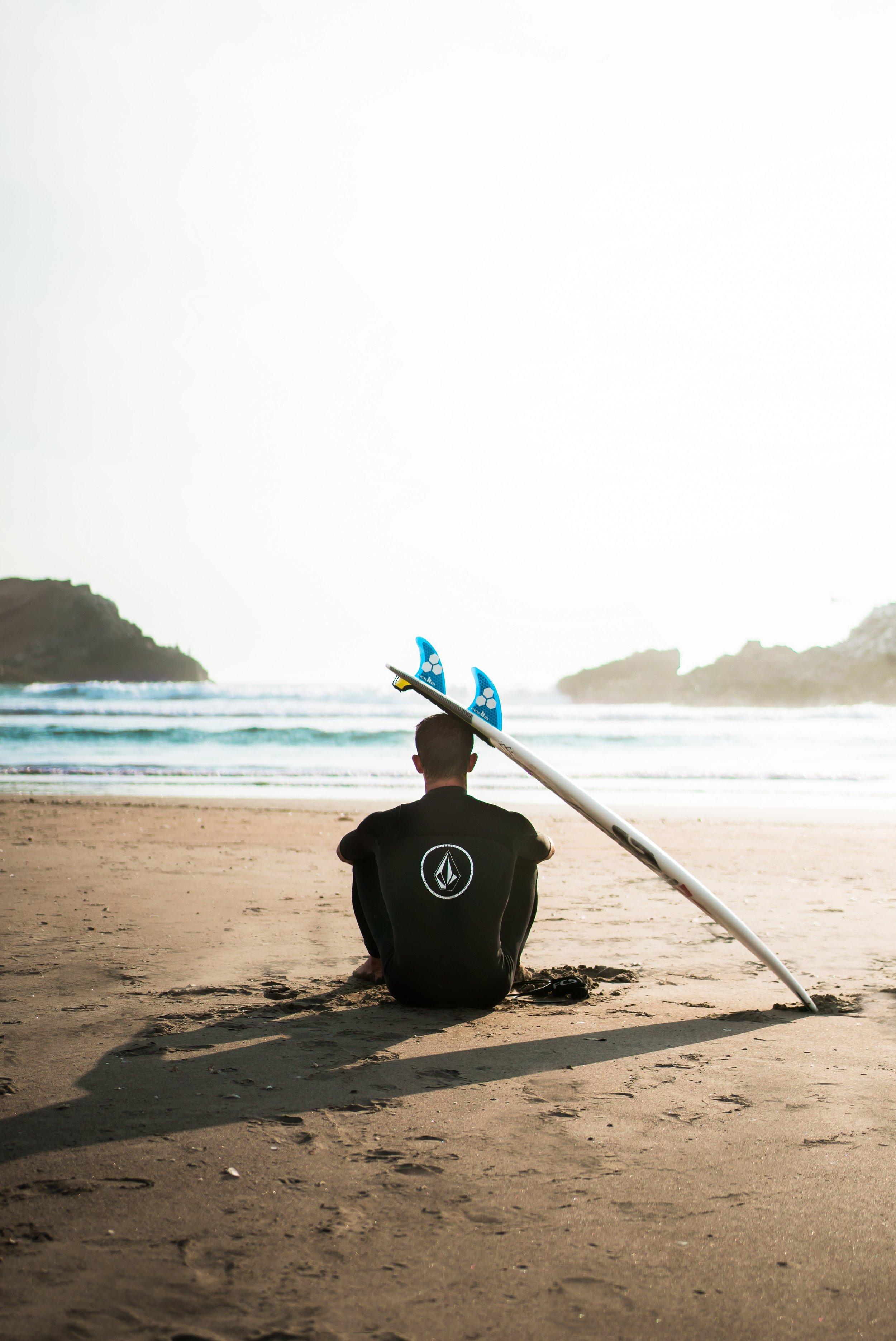 "Surfing on Lima's ""costa verde"""