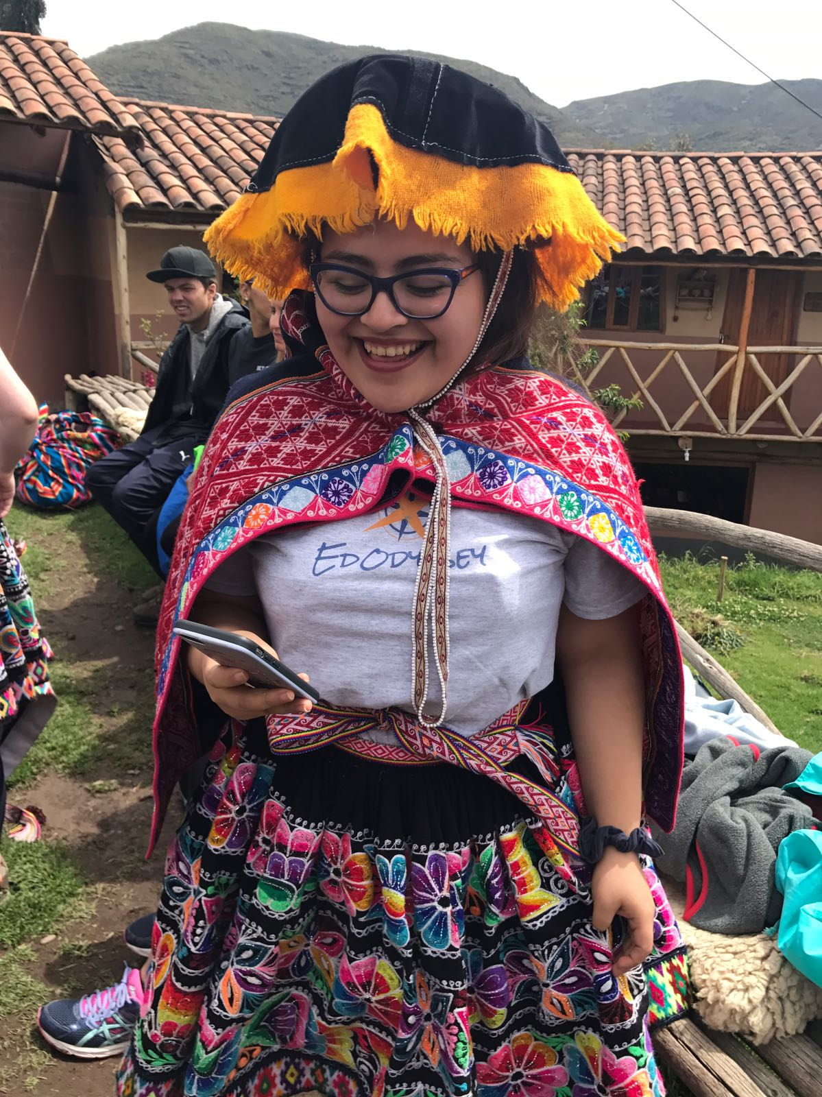 Day with a local Andean community