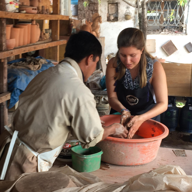 Ceramics workshop in Cusco