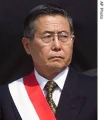 Former President Alberto Fujimori Credit: University of Houston - Clear Lake