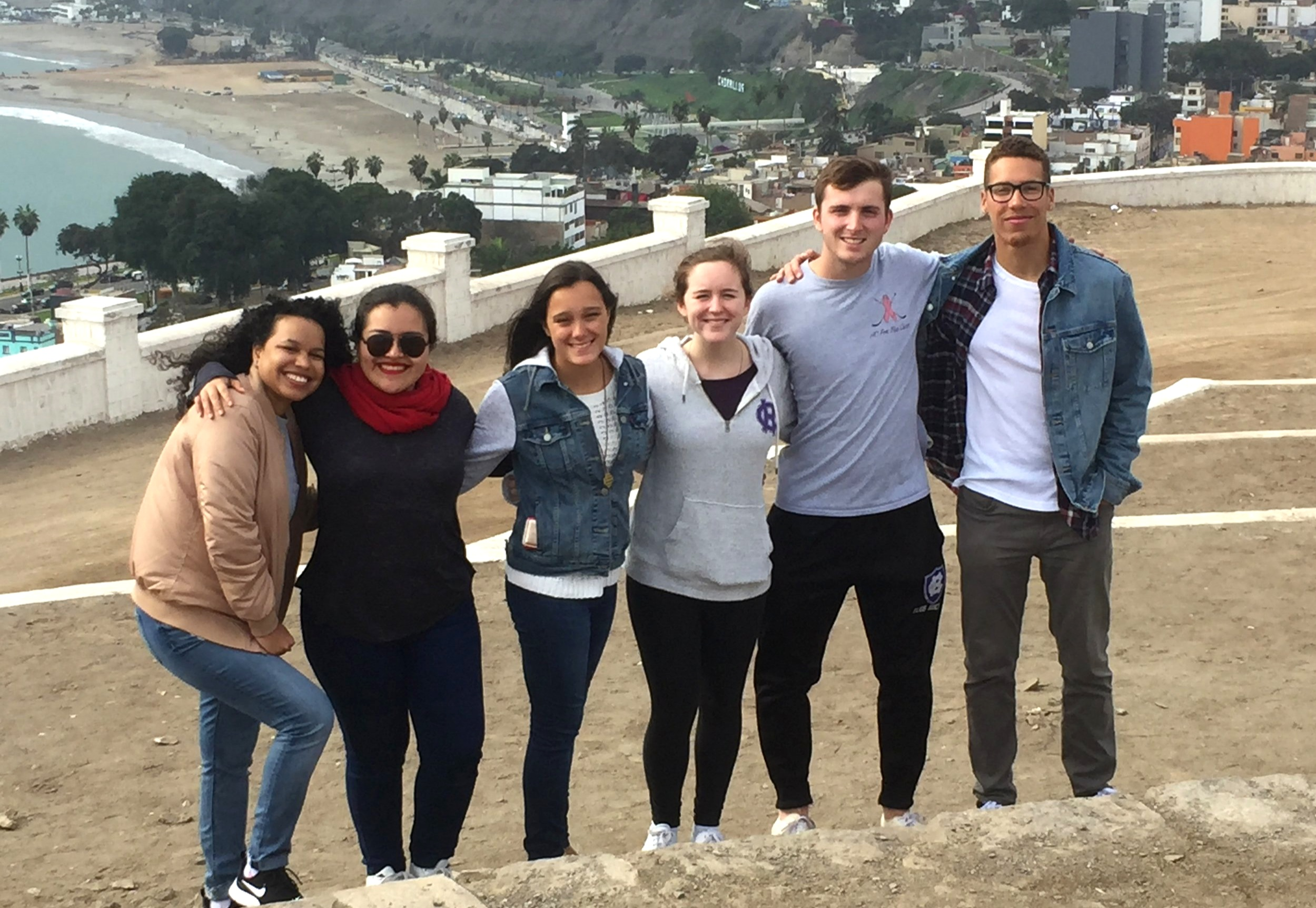 Study Abroad Students in Lima