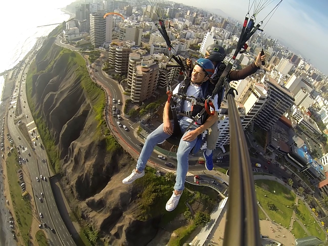 The day before I left Peru, I enjoyed seeing all the places where I visited during my time in Lima from above!