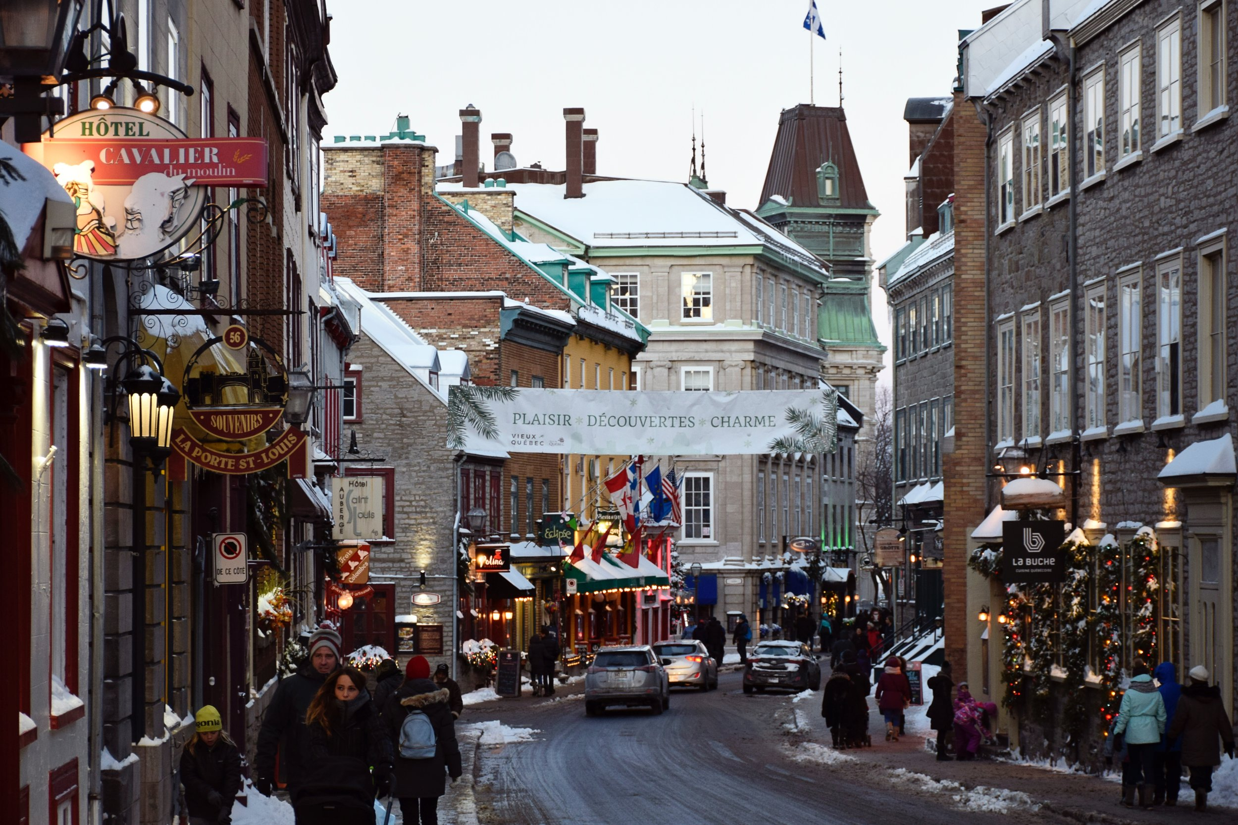 Old Quebec, Québec City, Canada