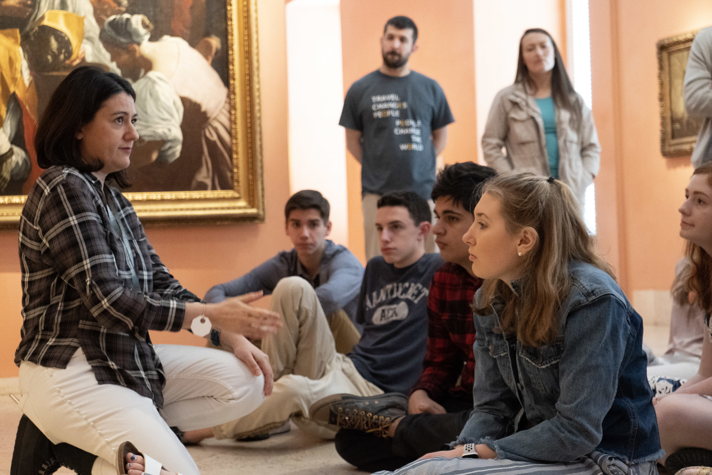 Our visit to Madrid's Thyssen-Bornemisza Museum that explored themes, such as reality and perception.