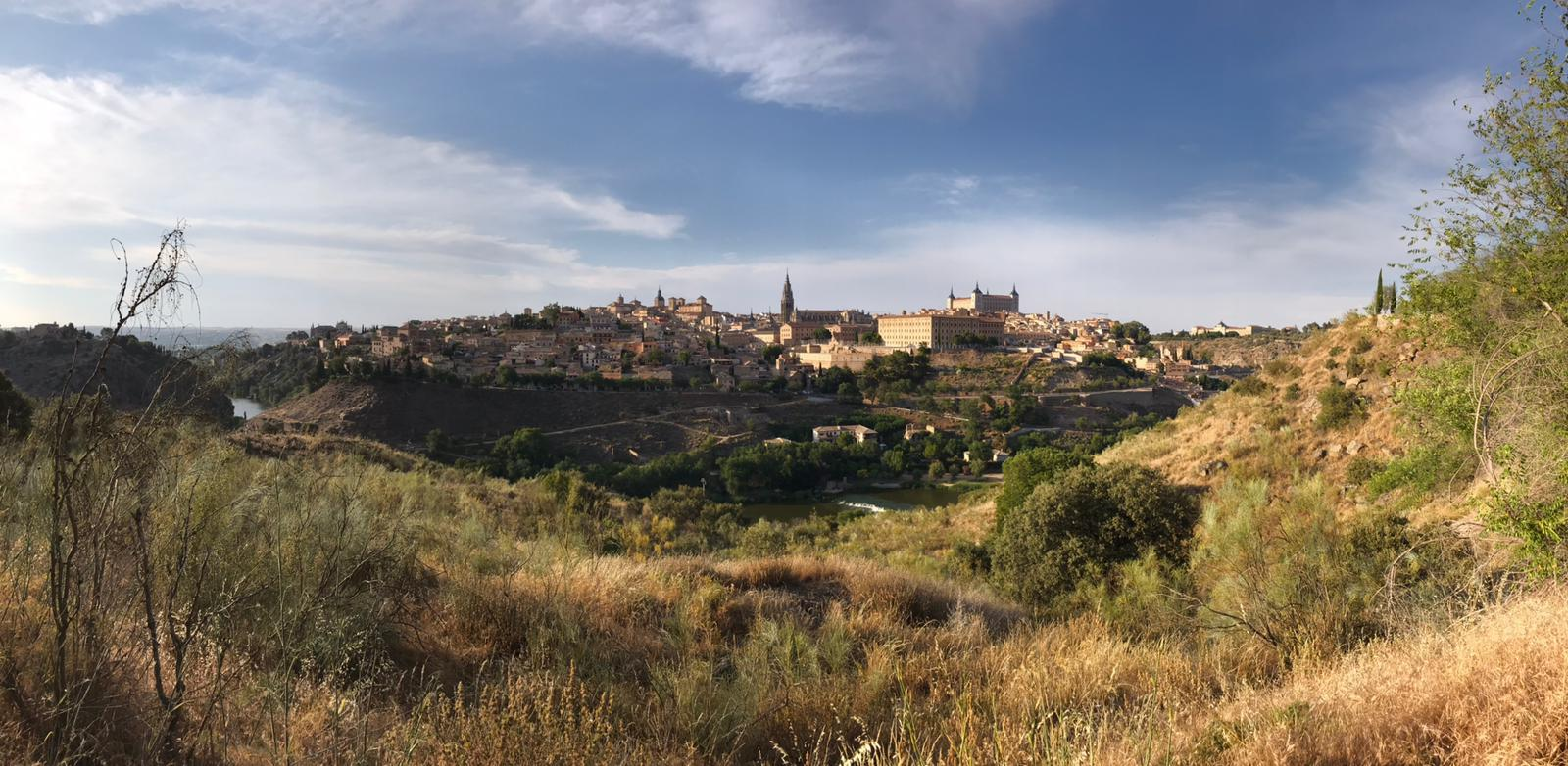 Classic view of Toledo - An hour drive from Madrid, Spain.