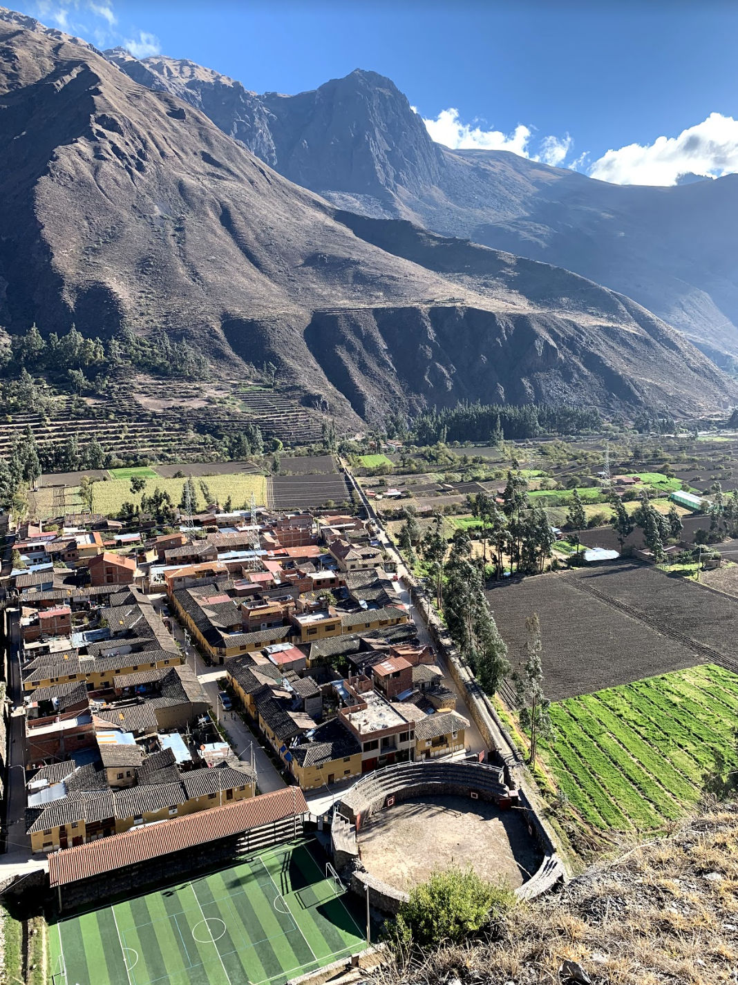 Sacred Valley of Peru.