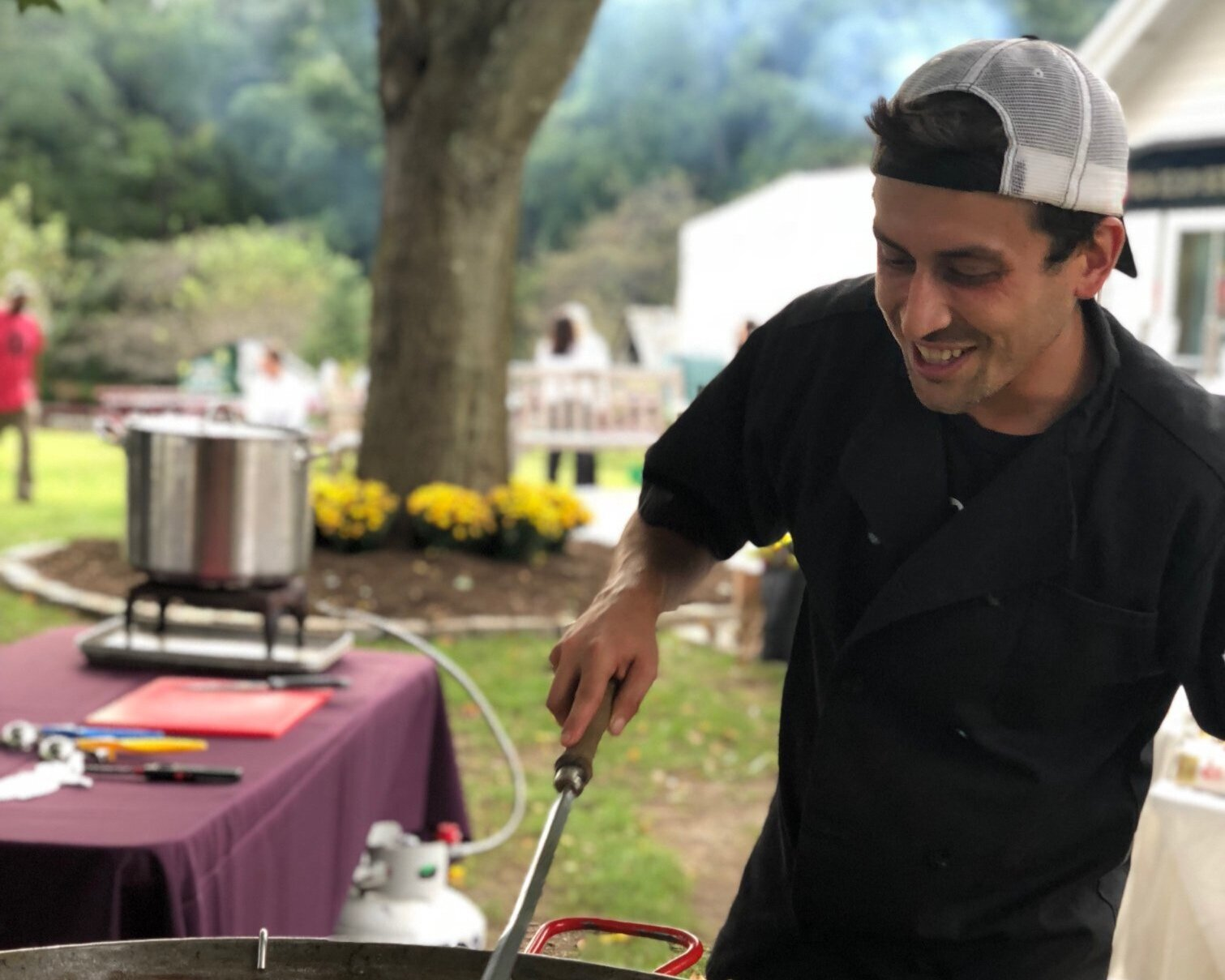 Chef Glen Michael of Fire and Rice Fairfield - Meet Chef Glen Michael of Fire & Rice Fairfield, who is whipping up his famous paella as an appetizer at Harvest Fest.