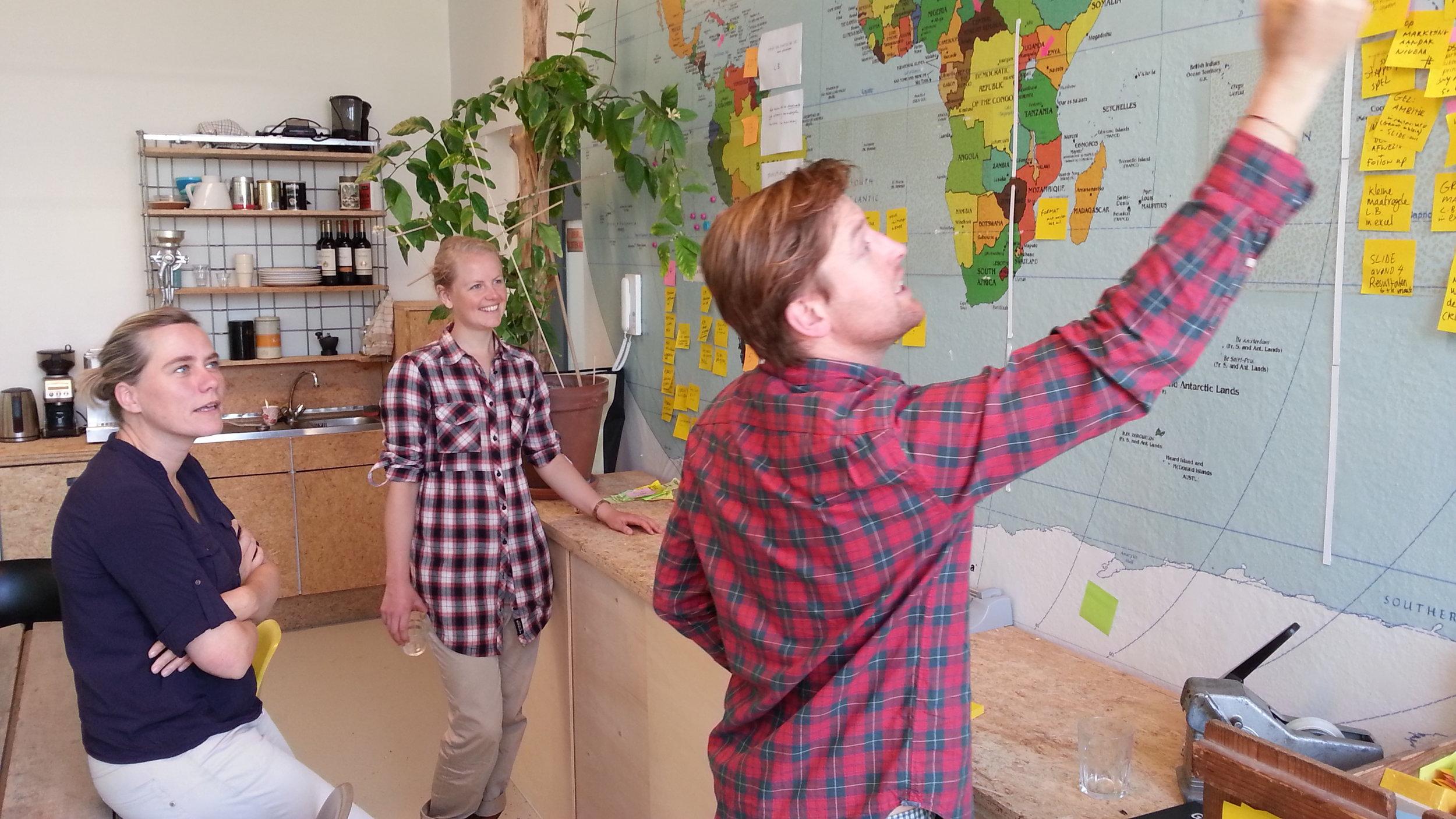 sprint met de Gemeente voor strategie lbuurtgebonden klimaat-aanpak
