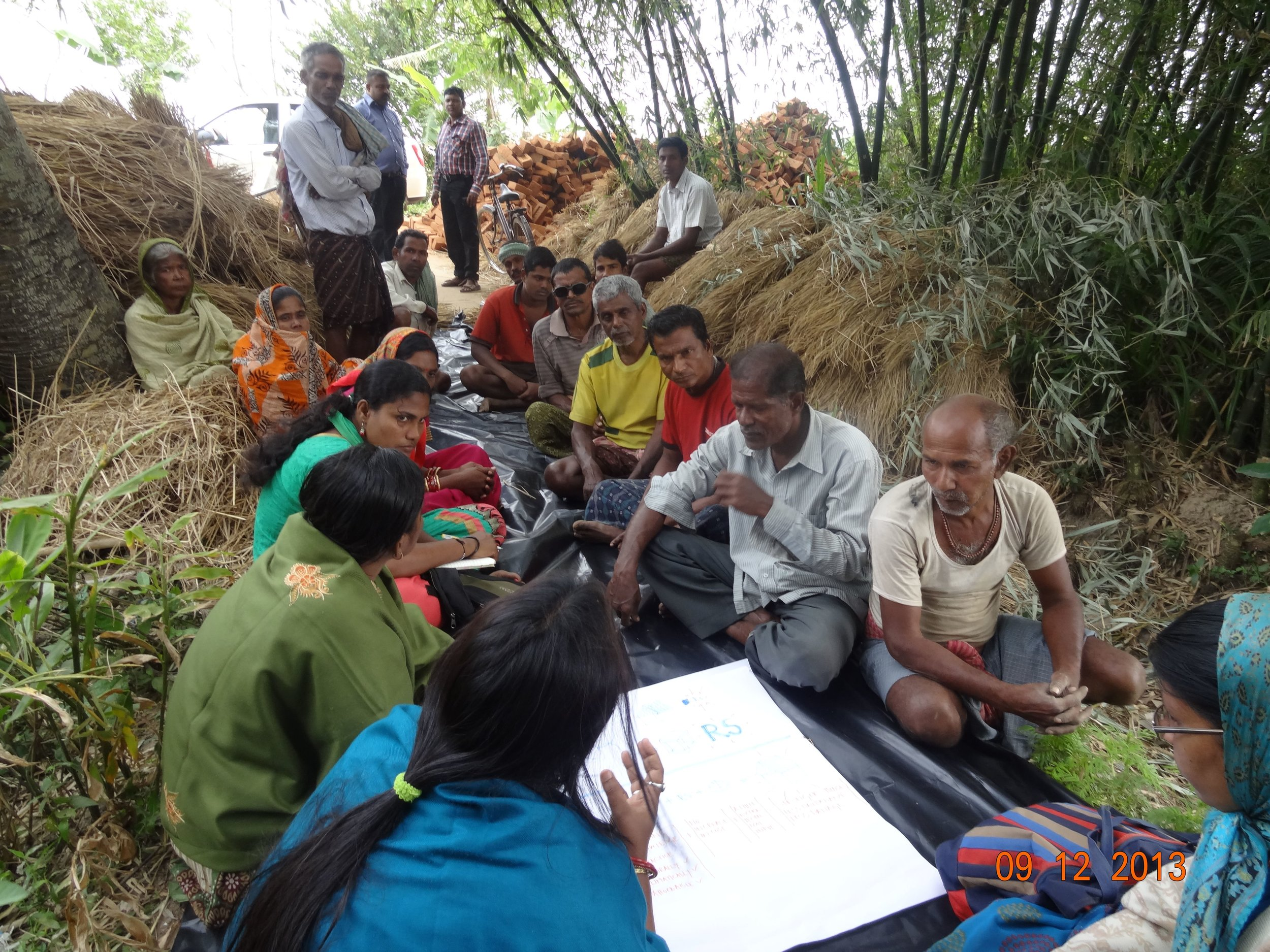 DRR Strategies in the field - social labs - CRS