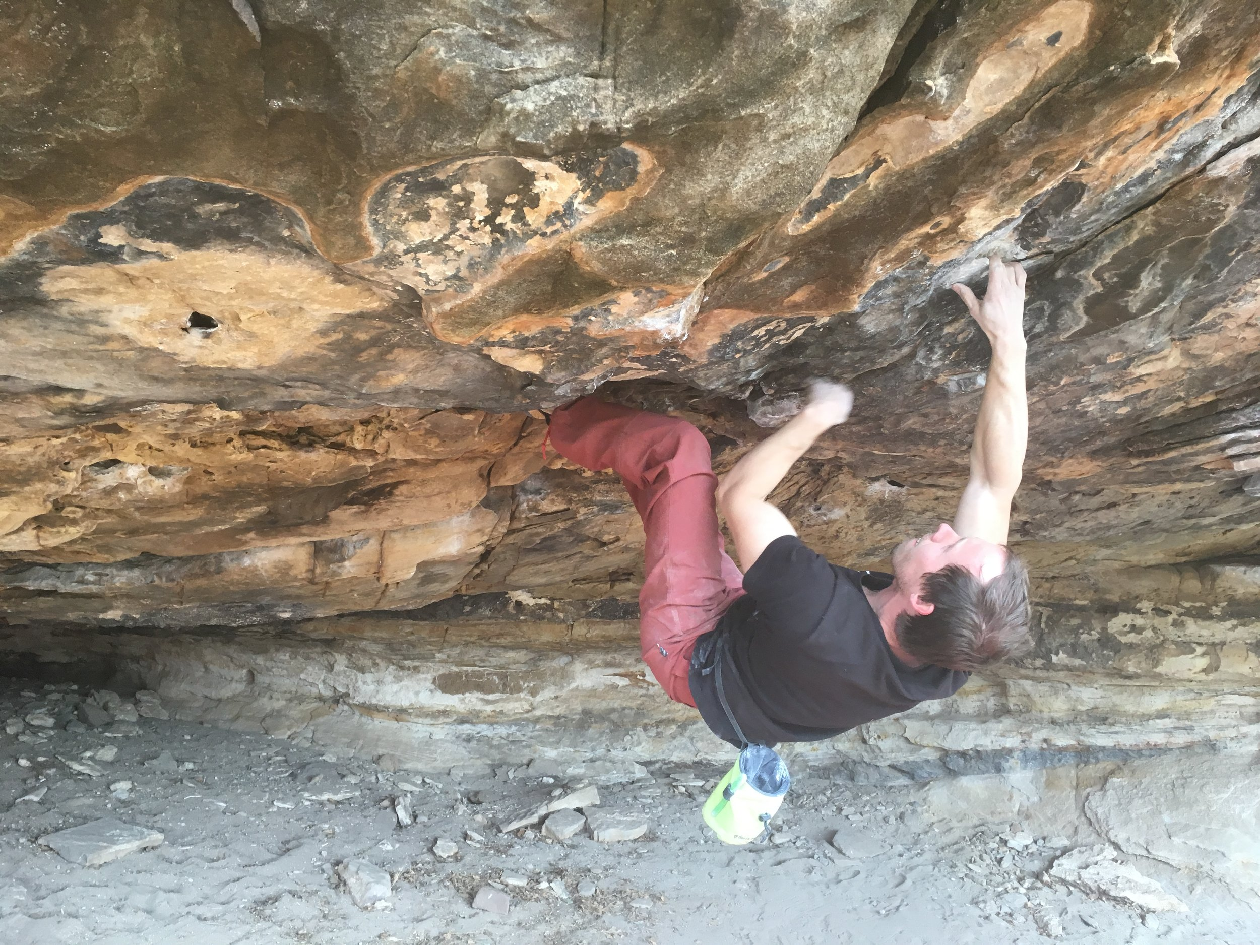 Bouldering Upper Mesteño
