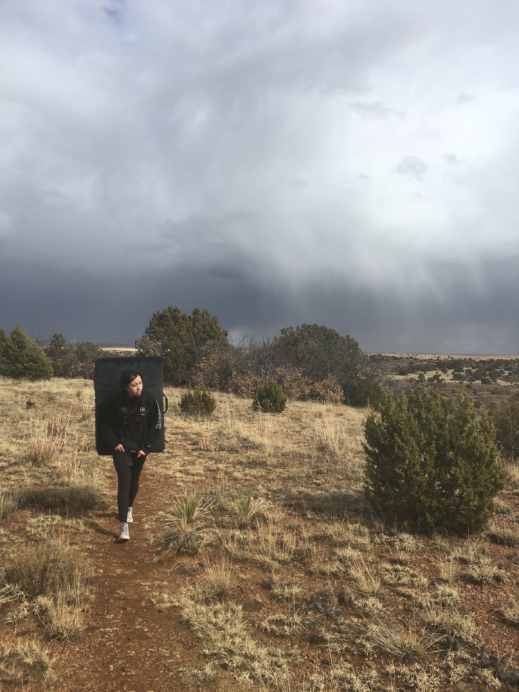 Hiking out in New Mexico