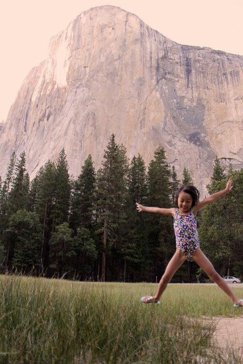 A trip to Yosemite.