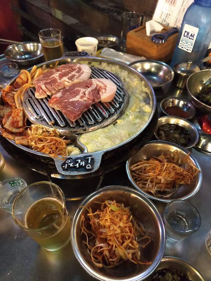 Korean BBQ in Busan