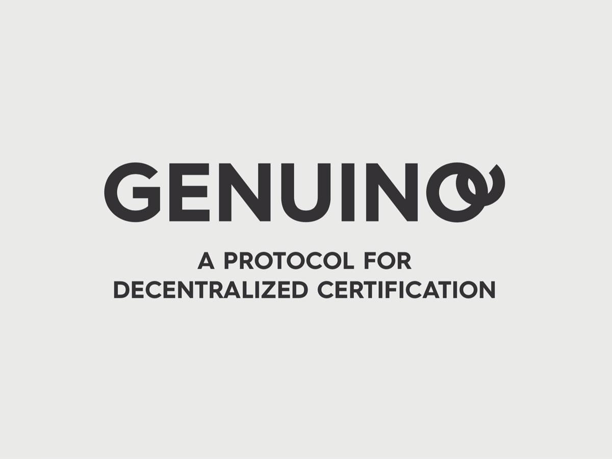 Genuino - Head of Digital marketing for GENUINO, a protocol for decentralised certification of supply blockchain.