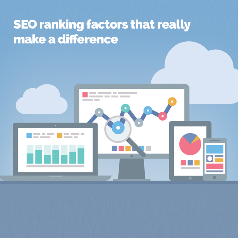 SEO ranking factors that really make a difference - BLOG | 11 Dec, 2017Search Optimisation continues to evolve and it's crucial to keep up to date with the updates and changes to Google Search's ranking algorithm if you want your content to be found. Here are 5 factors that ...