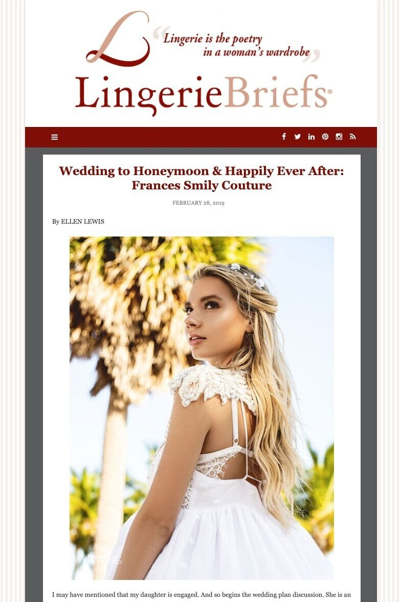 Featured on LingerieBriefs - February 2019