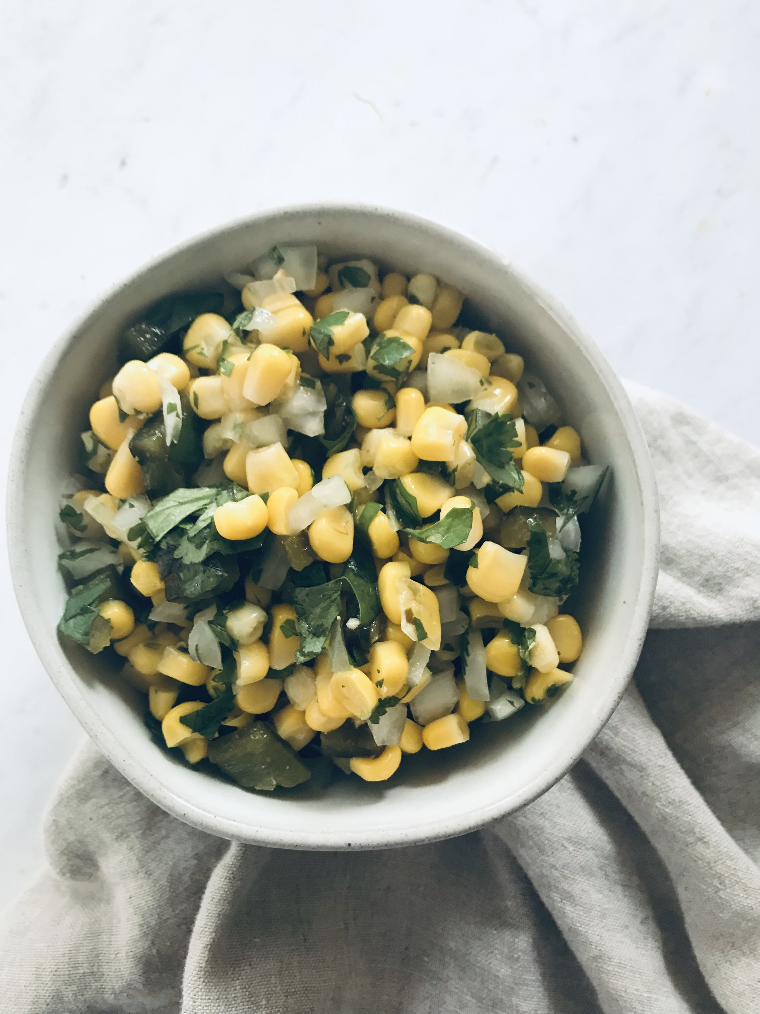 Cilantro Corn Salsa
