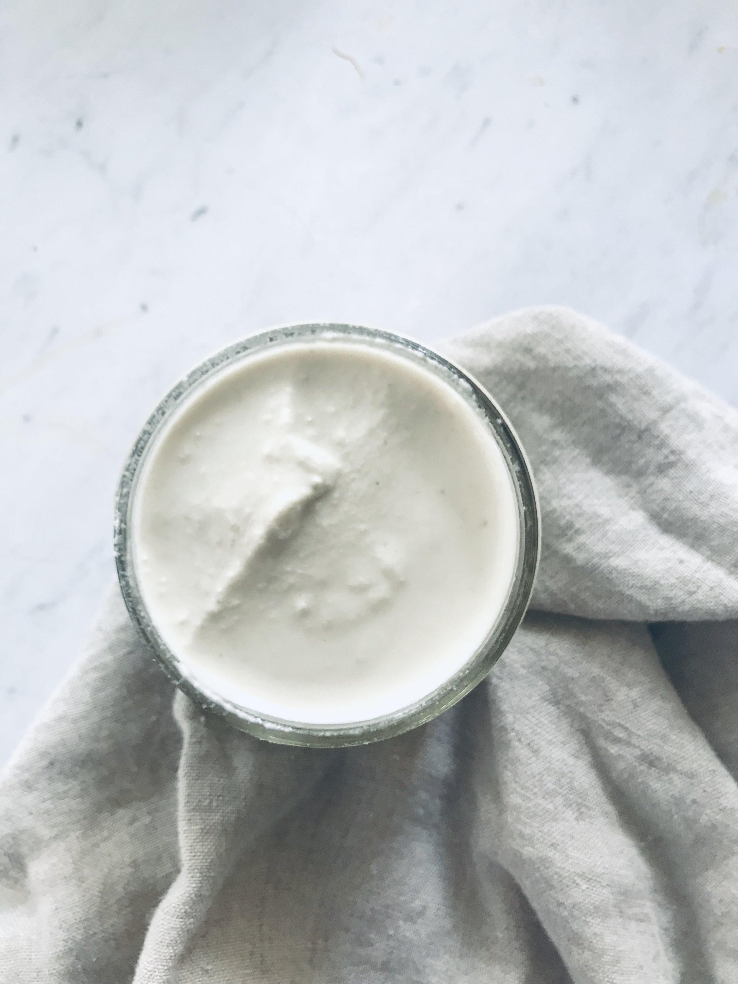 Vegan Cashew Sour Cream